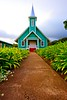 Church Row, Waimea Hawaii :