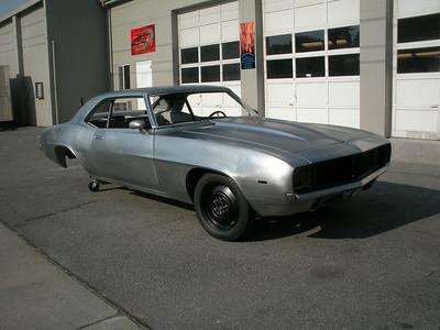 1969 Camaro Custom Project - Bob Braga
