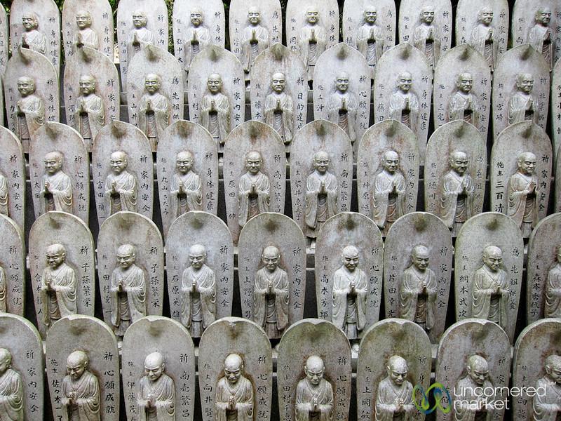Buddhist Statues at Daisho-In Temple - Miyajima, Japan