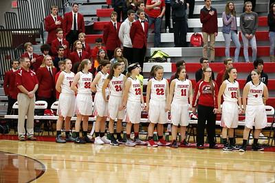 Girls Varsity Basketball - 1/20/2017 Tri County