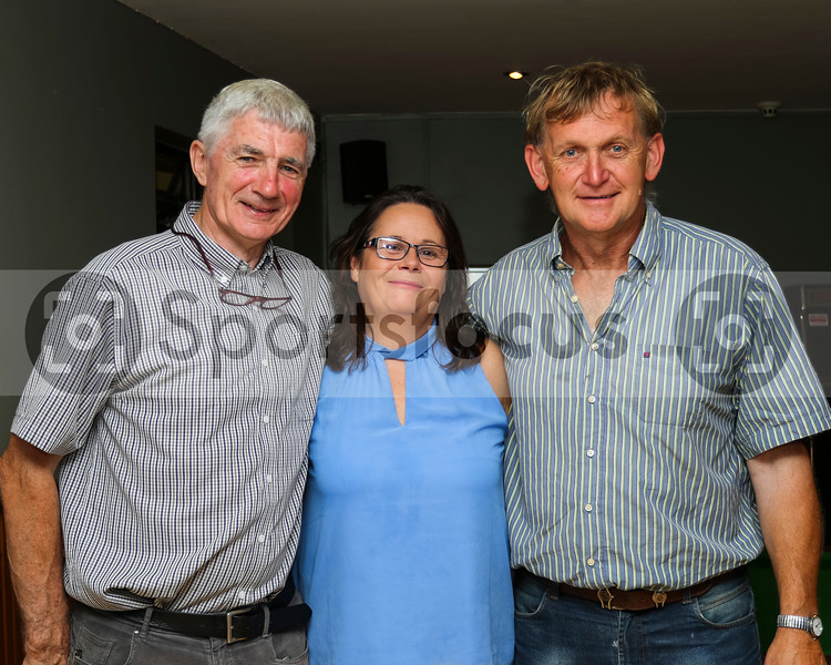 2019-08-03 Presentation to John Sherlock from Silvermines GAA Club for his commitment to the club.
