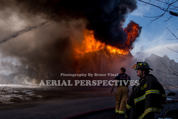 Greenville NH Training Fire 11/7/2020