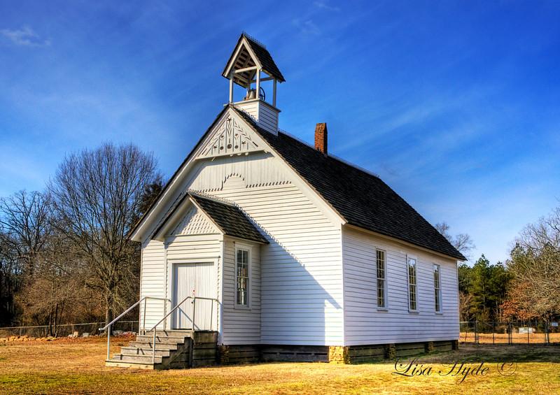 Smyrna Methodist Church - Searcy, AR  ca.1857
