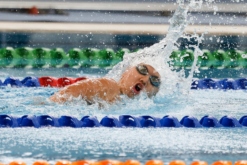 PARA SWIMMING - DANIELLE YAN TING MOI in action & representing Singapore in Women's 100 LC Meter Freestyle S14  Finals at Aquatics Centre, KL on September 18th, 2017 (Photo by Sanketa Anand)