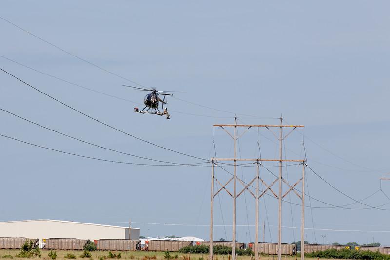 NPPD Transmission Line Work
