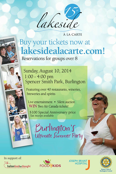 Lakeside a la Carte 2014