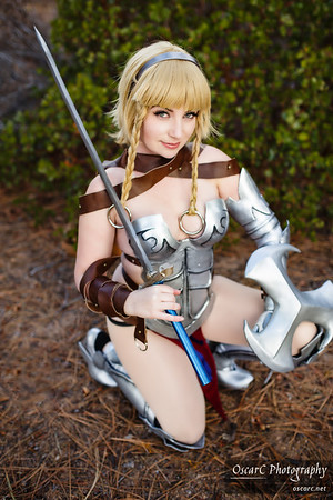 Leina (WindOfTheStars) from Queen's Blade