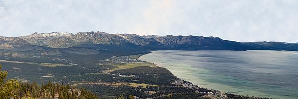 View of Lake Tahoe from Tamarac.
