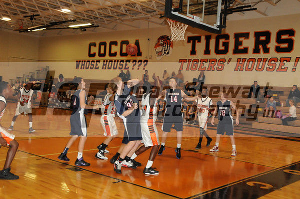 Cocoa Beach Boys Basketball vs Cocoa