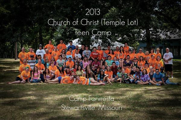 2013 Teen Camp