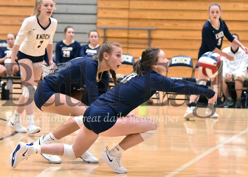 Knoch vs mars Girls Volleyball at Knoch High School