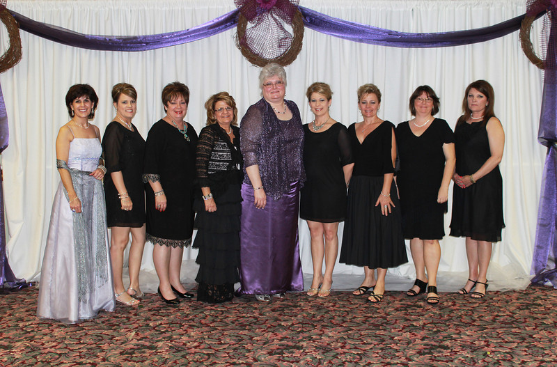 Theta Epsilon - Kathy Riggs, Crystal Elrod, Kathy Fruchtnicht, Christie Williams, Ann Southall, Kristy Cain, April Bentley, Denise Holdaway, and Jennifer Gentry