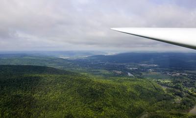 Glider Plane Ride - Elmira 2016