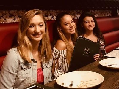 Kate's Last Dinner 8/18