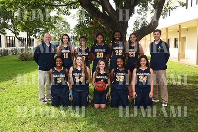 Girls Basketball Group & Individuals