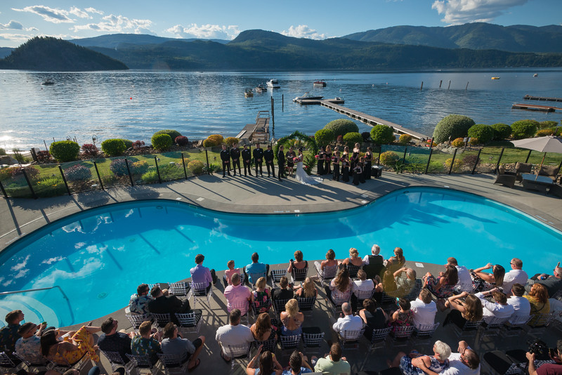 Kate & Parker - Carmel Cove Wedding