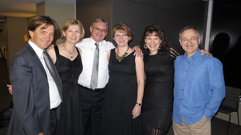 Miroslav i Jadranka Belić, Strahinja i Marina Pavić, Zorica Kandić i Miroslav Ilić