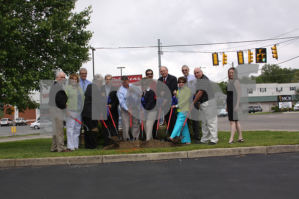 Erwin Downtown Revitalization Groundbreaking - May 2013