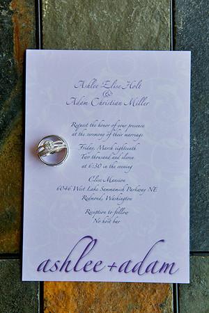 Miller Wedding Details