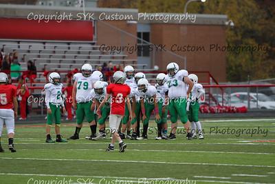 WBMS 7th Grade Football at Minerva