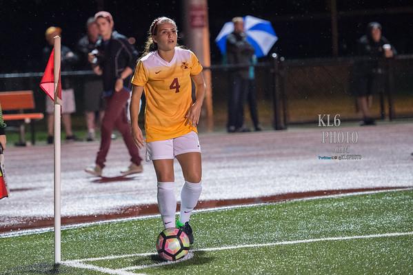 ISU Soccer vs Iowa 09/09/16