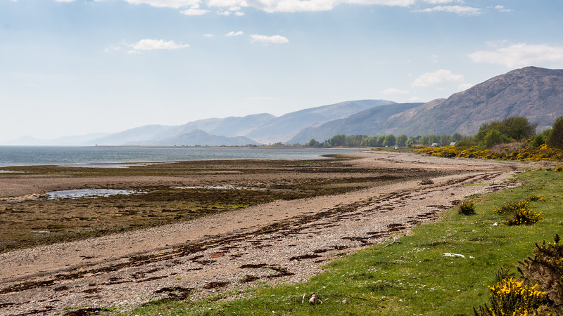 Loch Linnhe and mountains