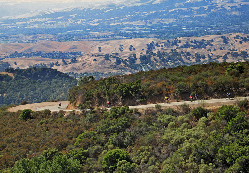 The Mount Diablo Annual Bike Race