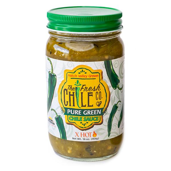 Fresh Chile Company - Hatch Valley Grown - 16 oz Jar - Pure Green - Extra Hot.jpg