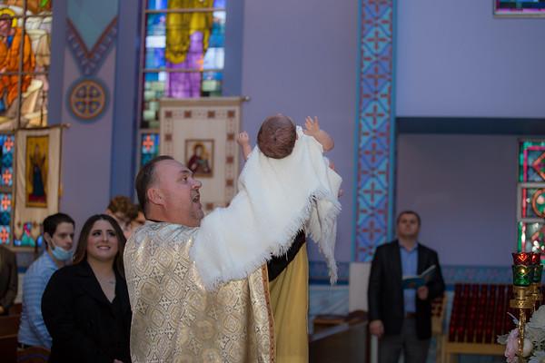 Santino Christening