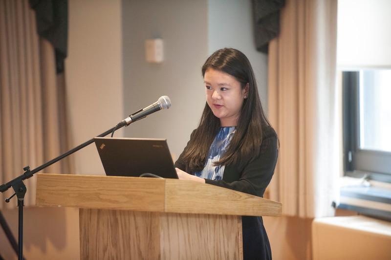 Honors Presentations, April 2018