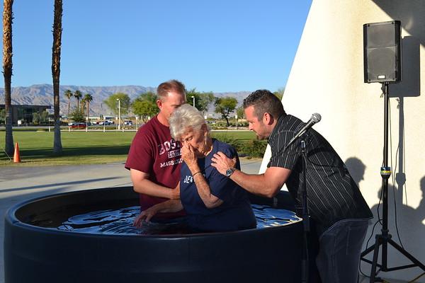Baptisms May 21, 2016