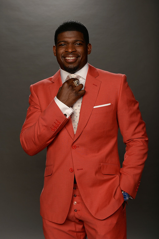 . P.K. Subban of the Montreal Canadiens poses for a portrait during the 2014 NHL Awards at Encore Las Vegas on June 24, 2014 in Las Vegas, Nevada.  (Photo by Harry How/Getty Images)