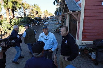 10-14-2018 Ground Tour of Mexico Beach with FEMA Administrator Brock Long