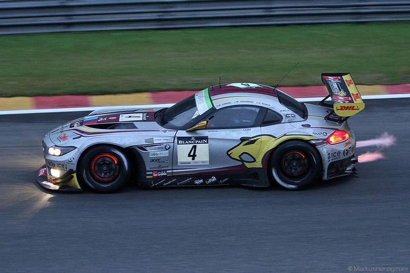 BMW Z4 - Marc VDS Racing Team - Longin/Hezemans/Moser @ Spa Total 24 Hours Belgium 29Jul12