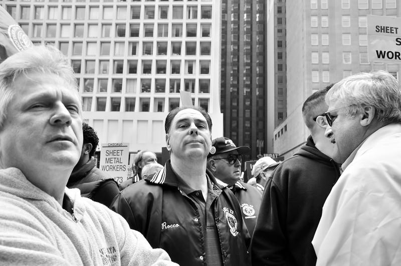 SEIU Protest in Chicago, 2011