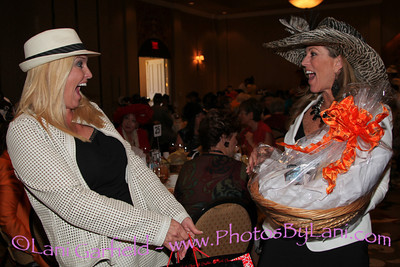 11th Annual Hats Off Luncheon benefiting Shelter From the Storm. October 27, 2011