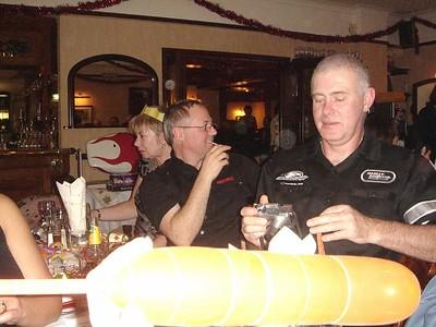 Lodge Xmas Meal 2006