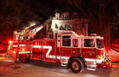 Brookline, MA - 2nd Alarm, 134 Babcock Street, 12-31-17