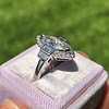 1.66ctw Art Deco Inspired Marquise Dinner Ring 13