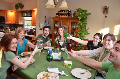 St. Patrict's Day Dinner with McGoverns