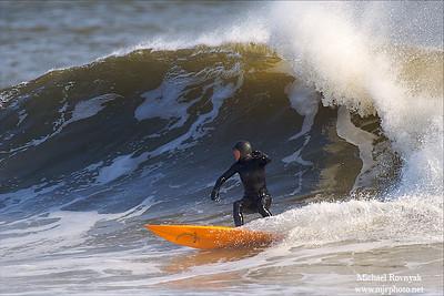 Surfing, NJ, No Name Break 2, 12.27.09