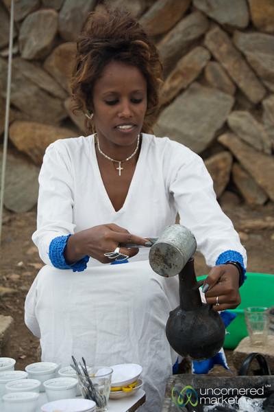 Ethiopian Coffee Ceremony in Aksum, Ethiopia