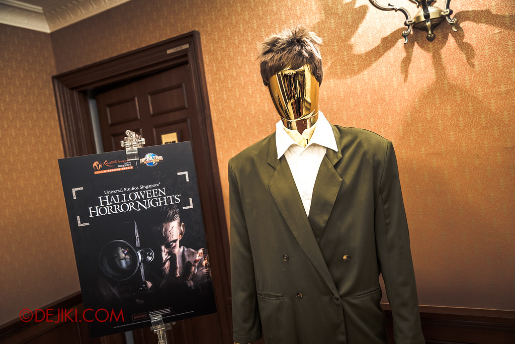 Halloween Horror Nights 7 - Behind The Screams Tour / Past Iconic characters costumes