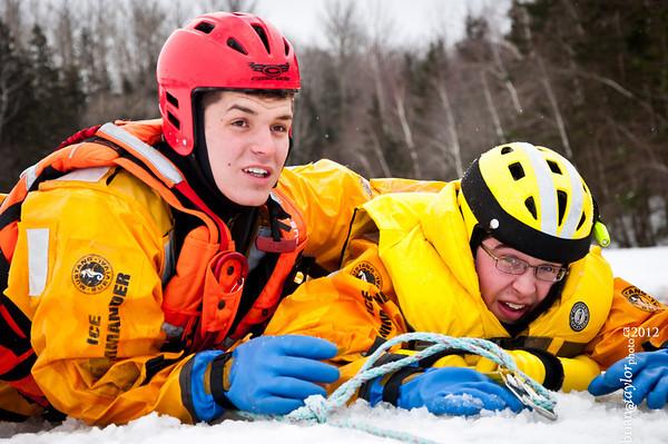 Kentville Fire Ice Rescue