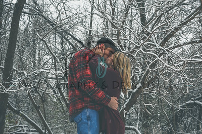 Hannah & Jeremy | Winter Mini