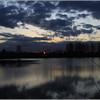 Moody sky on Lakeside 2012  Balderton Lake John © copyrighted