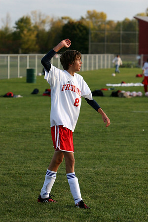 Boys JV Soccer - 2009-2010 - 10/7/2009 Tri-County