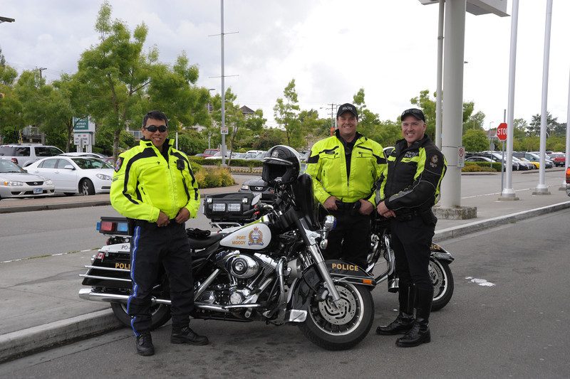Port Moody Police support RTL