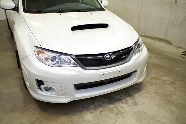 2013 White Subaru WRX