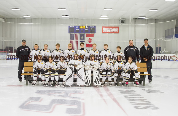 2019-20 Maine Moose Hockey 12UT3